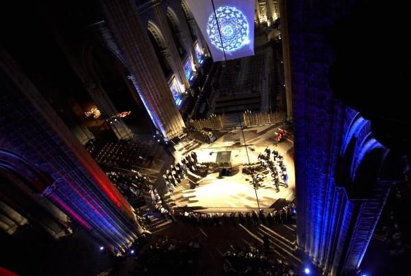 Chartres, Vierung
